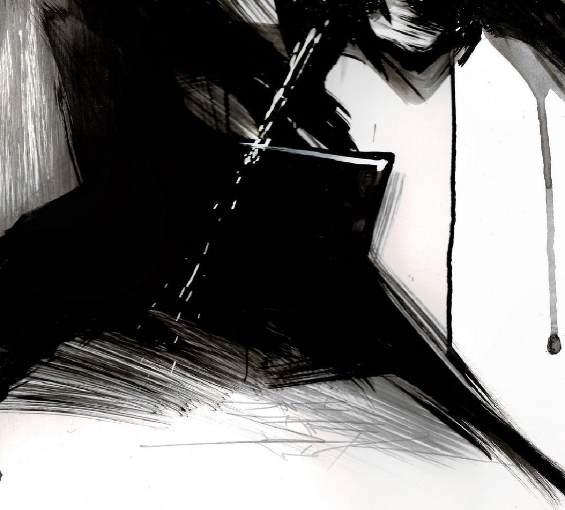Batman II - Original Acrylic Painting Antistatik - 5