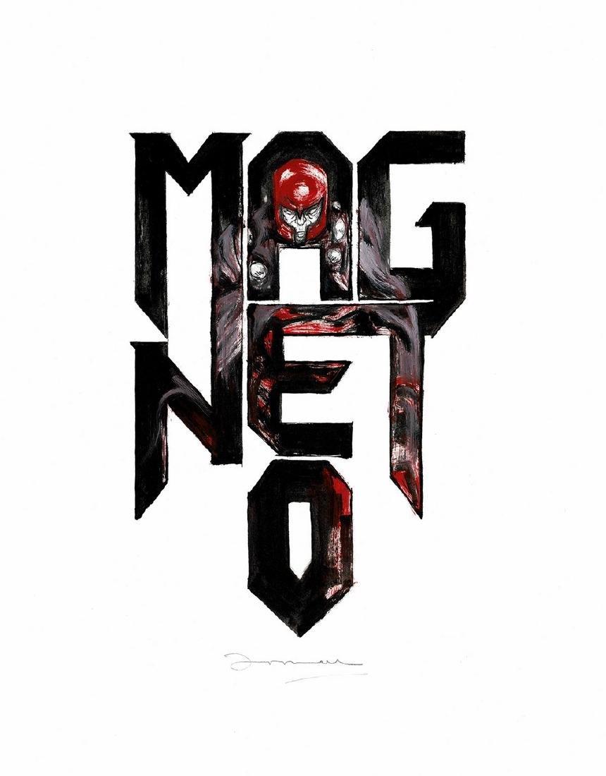 Magneto Original Painting Casas, Arnau
