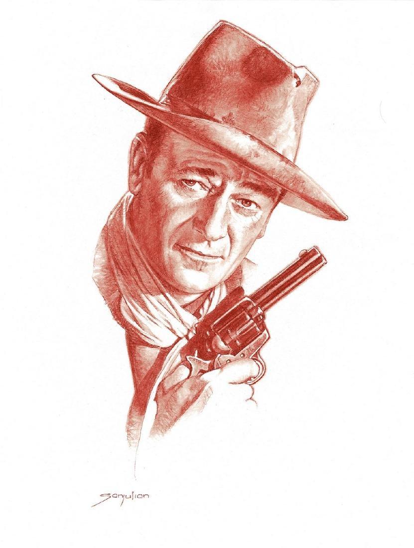John Wayne Original Sanguine Sanjulian, Manuel