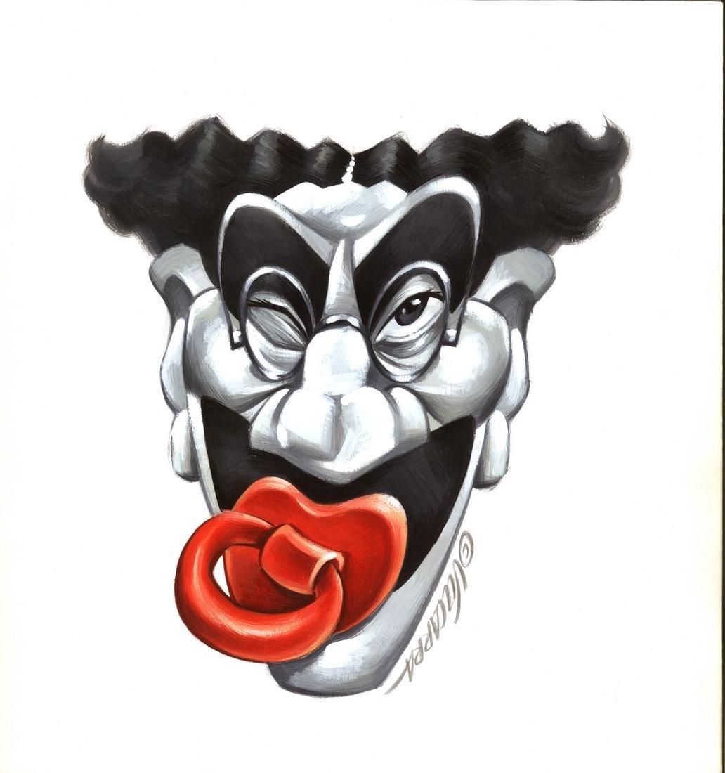 Groucho Marx Original Drawing Vizcarra, Joan