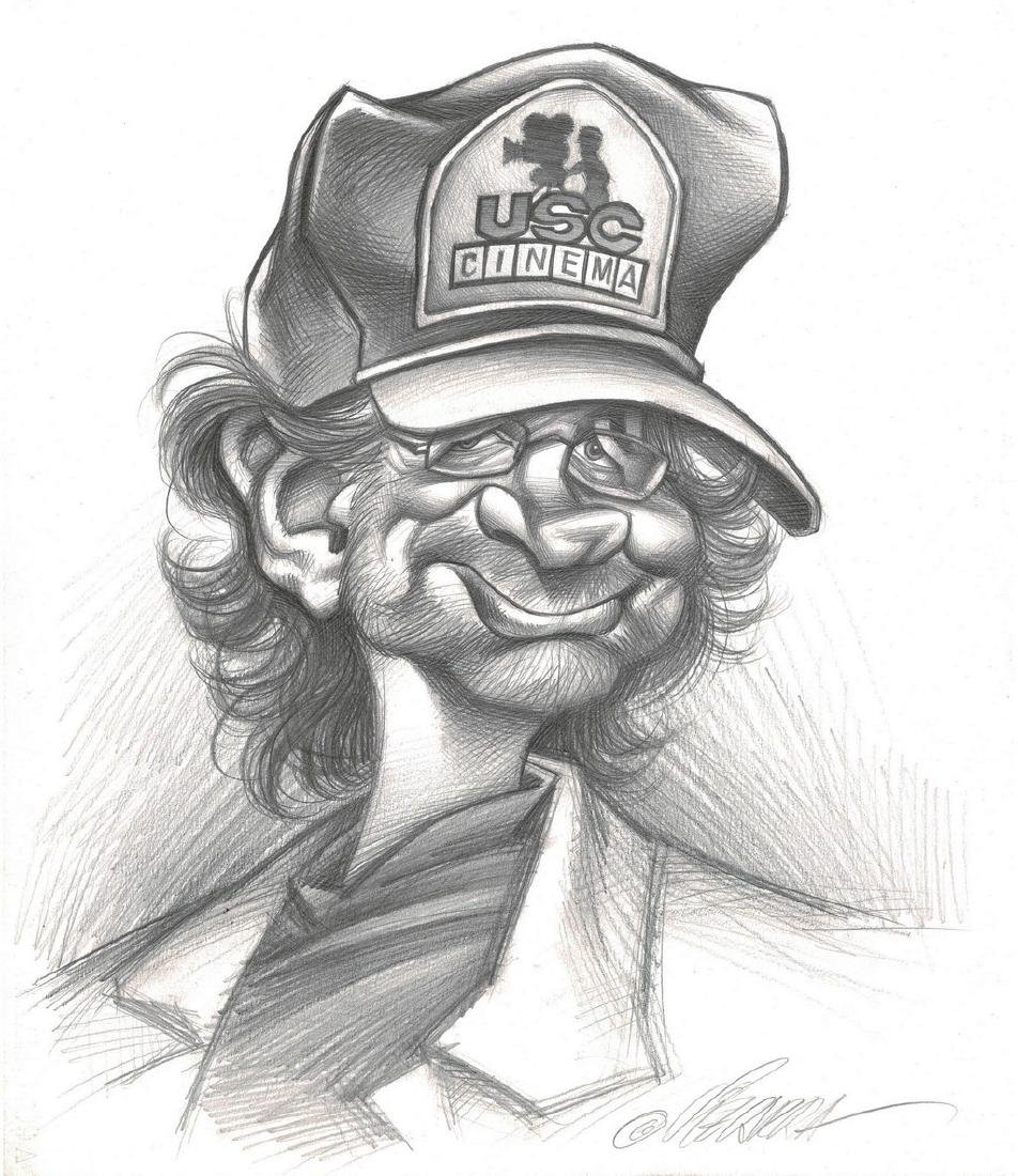 Steven Spielberg Original Drawing Vizcarra, Joan