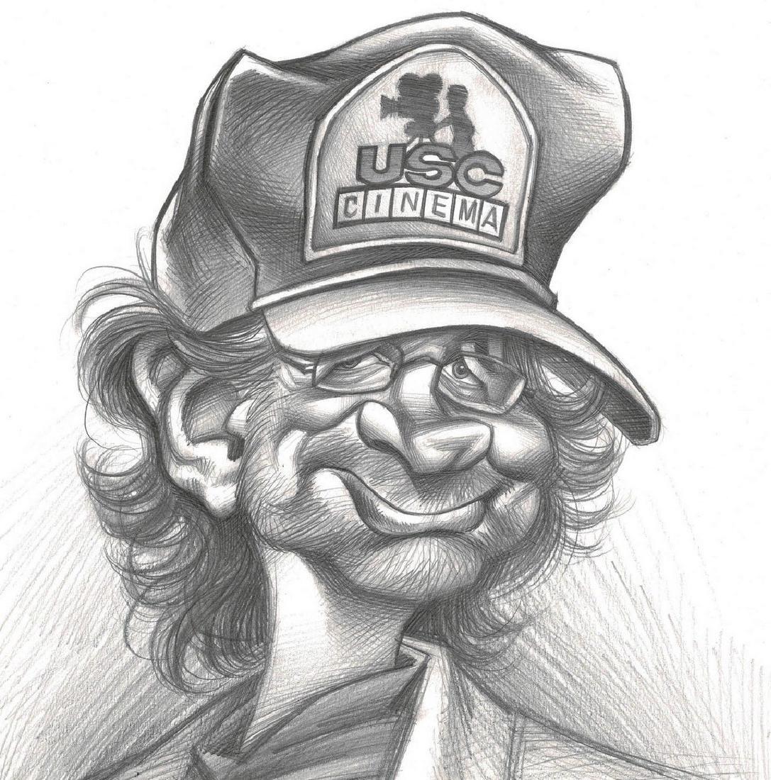 Steven Spielberg Original Drawing Vizcarra, Joan - 2