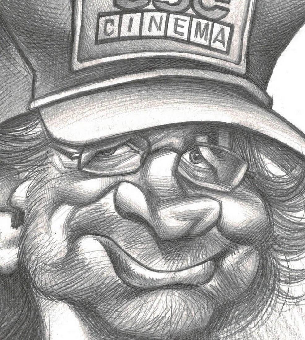 Steven Spielberg Original Drawing Vizcarra, Joan - 3