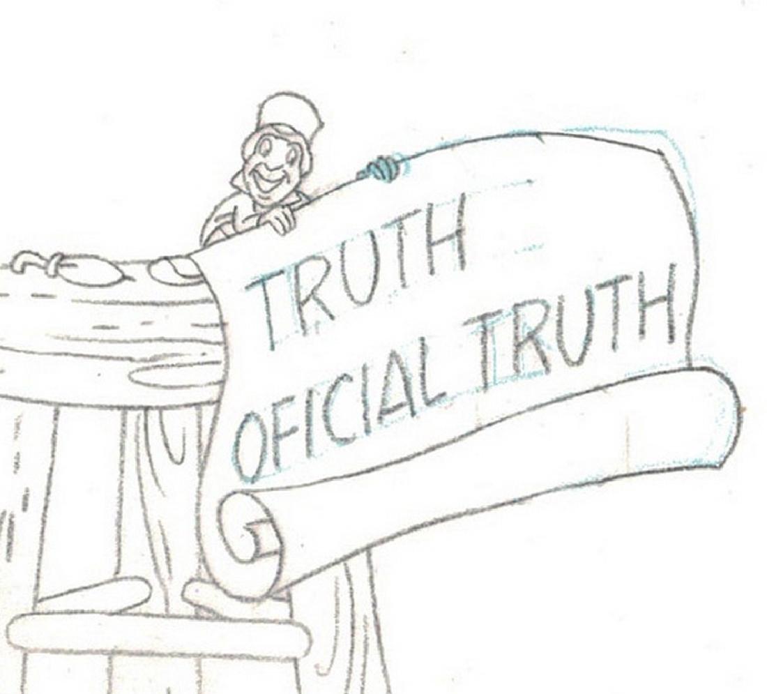 Pinocchio Original Production Drawing JM Cardona - 5