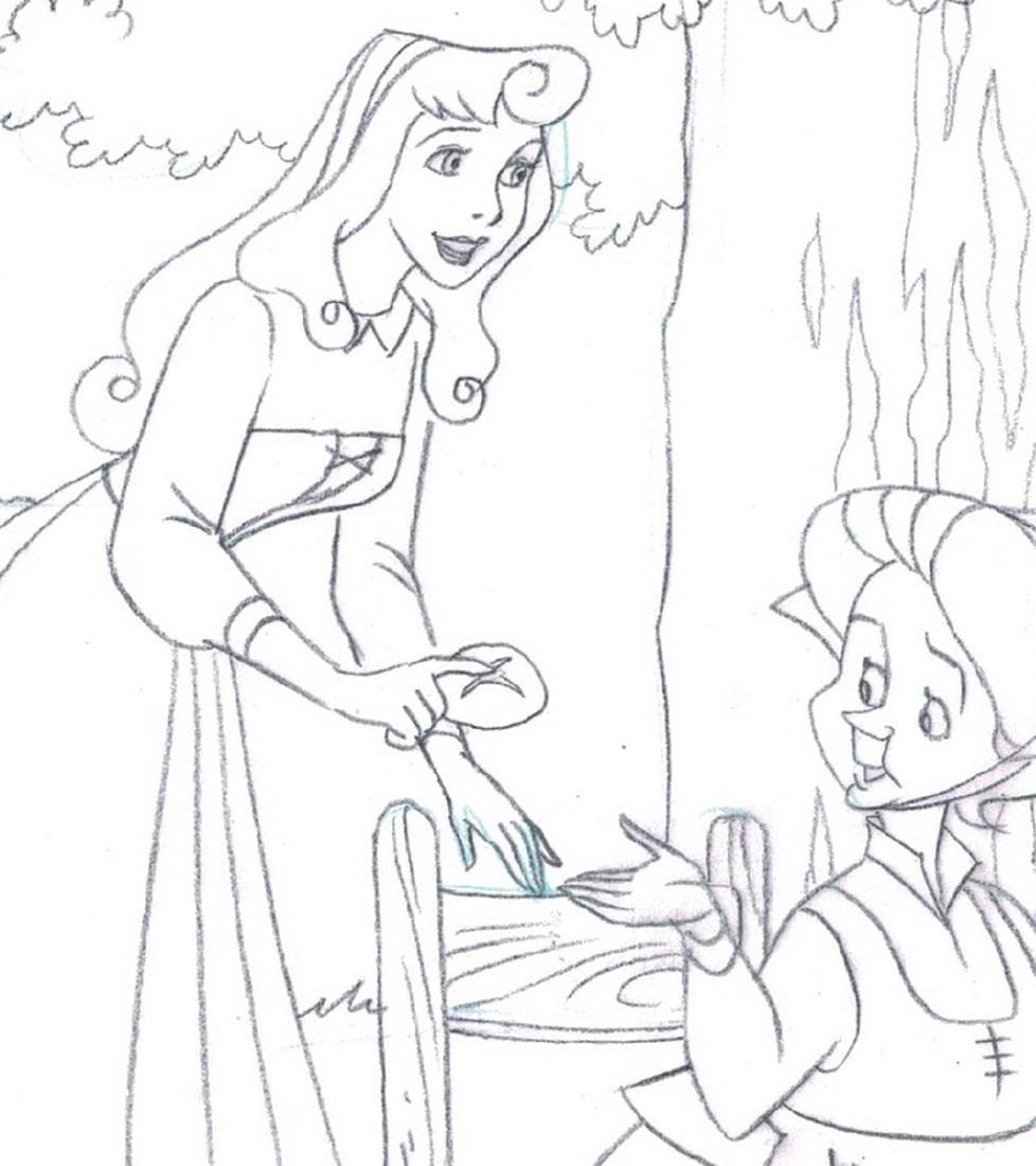 Sleeping Beauty Original Production Drawing JM Cardona - 3