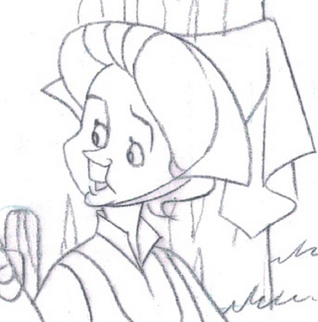 Sleeping Beauty Original Production Drawing JM Cardona - 5