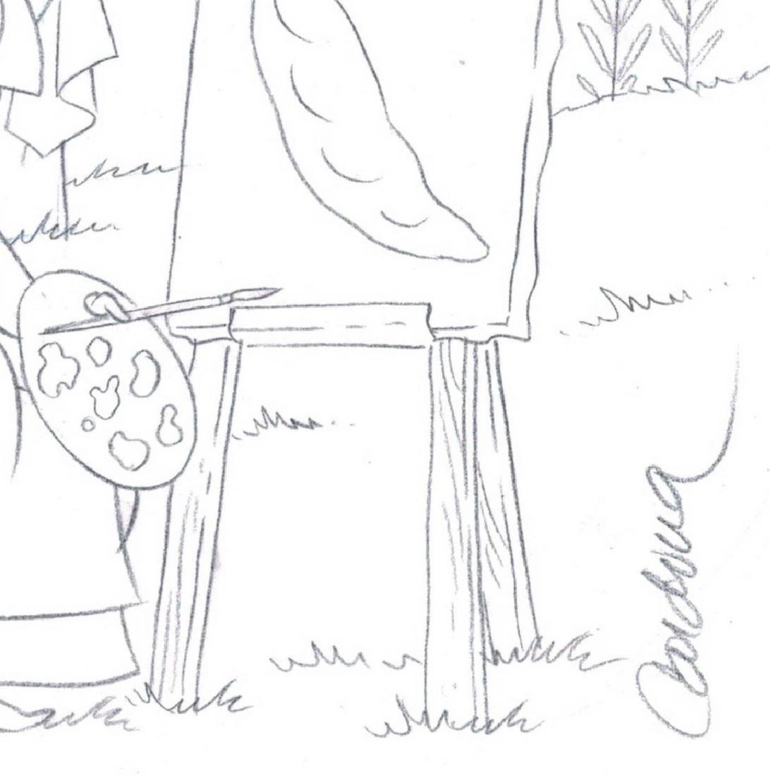 Sleeping Beauty Original Production Drawing JM Cardona - 9