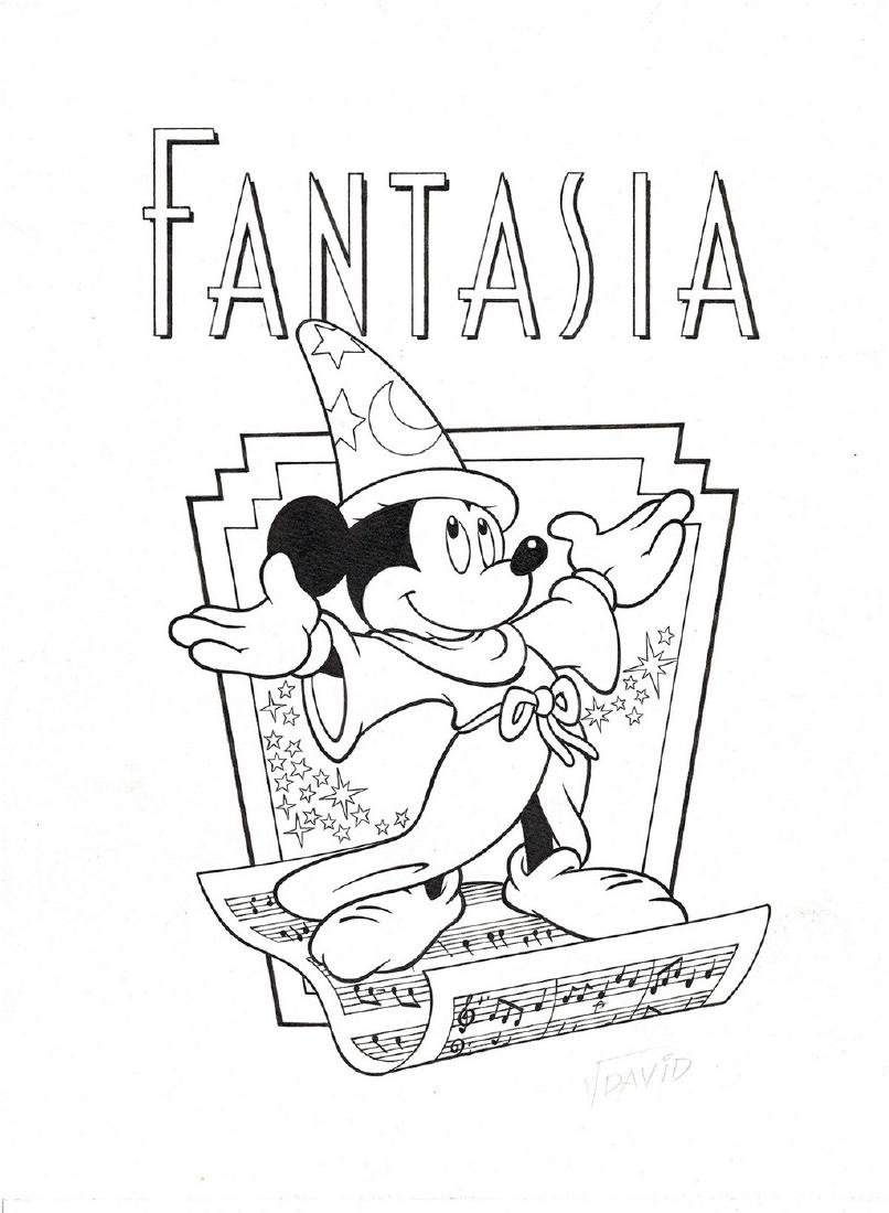Disney Original Poster - Fantasia Redo, Jordi David