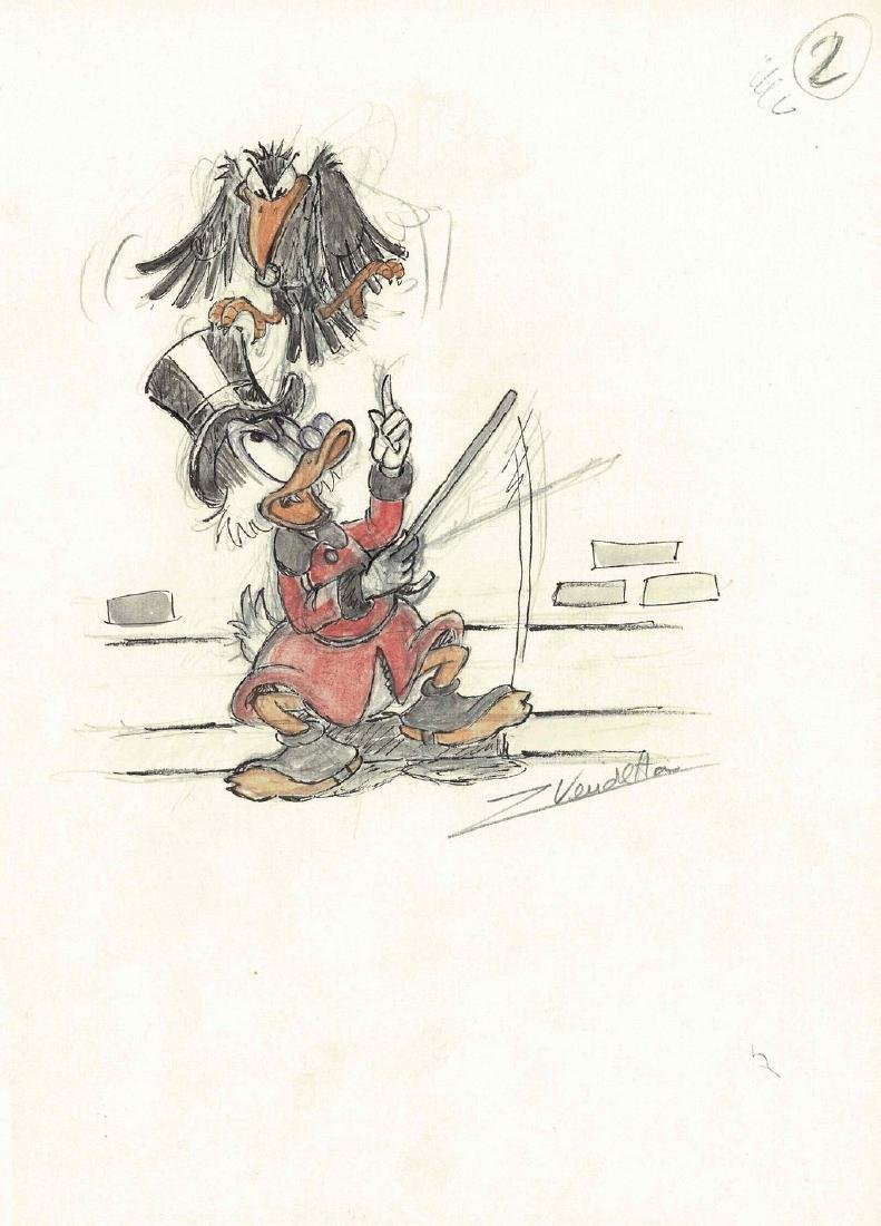 Uncle Scrooge and the Crow #2 Z. Vendetta