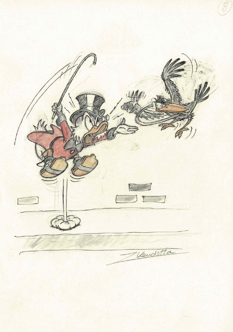 Uncle Scrooge and the Crow #8 Z. Vendetta