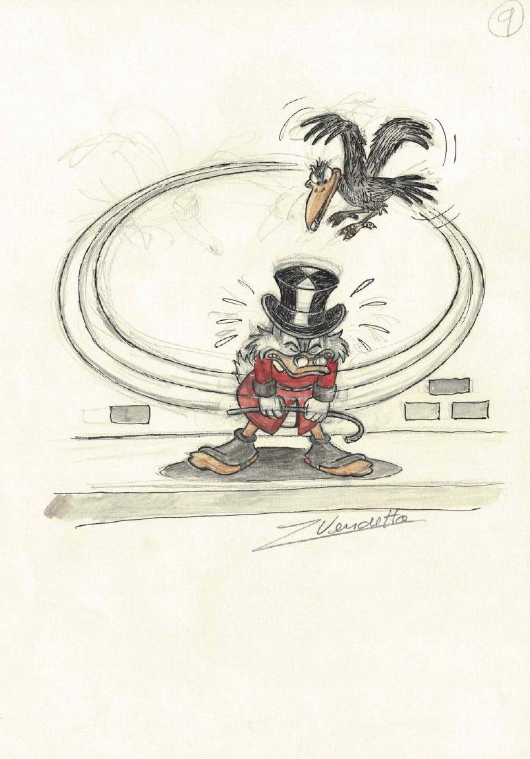 Uncle Scrooge and the Crow #9 Z. Vendetta