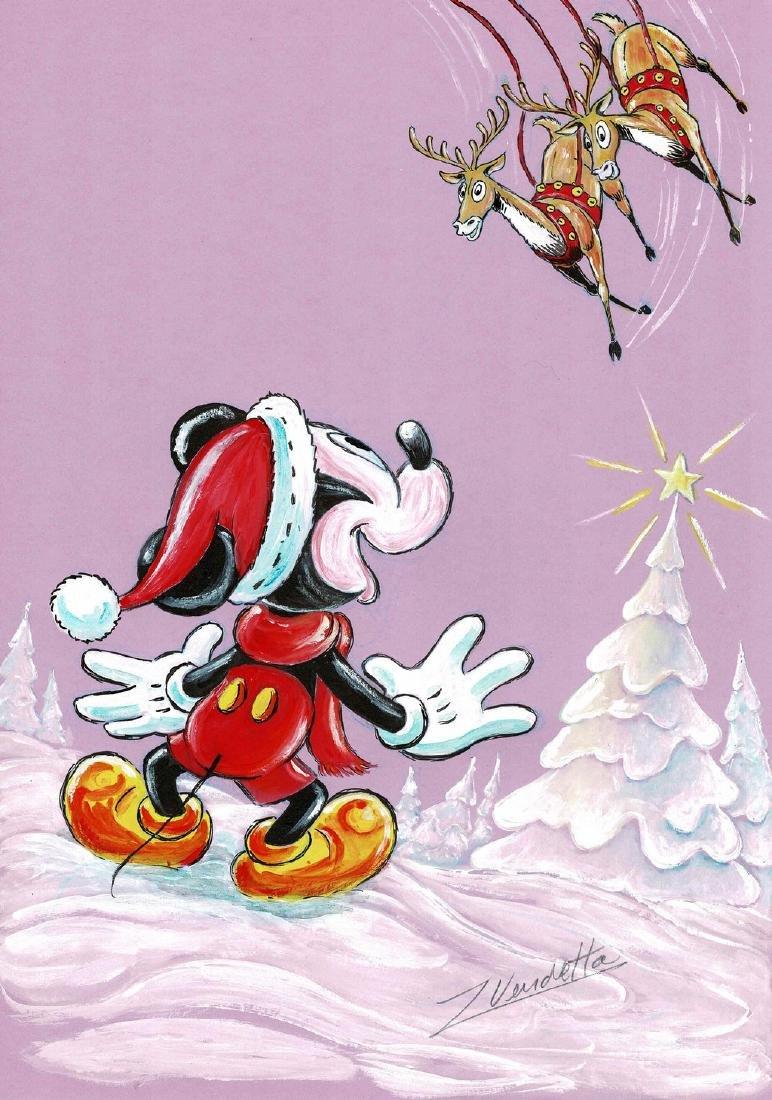 Santa Mickey Z. Vendetta