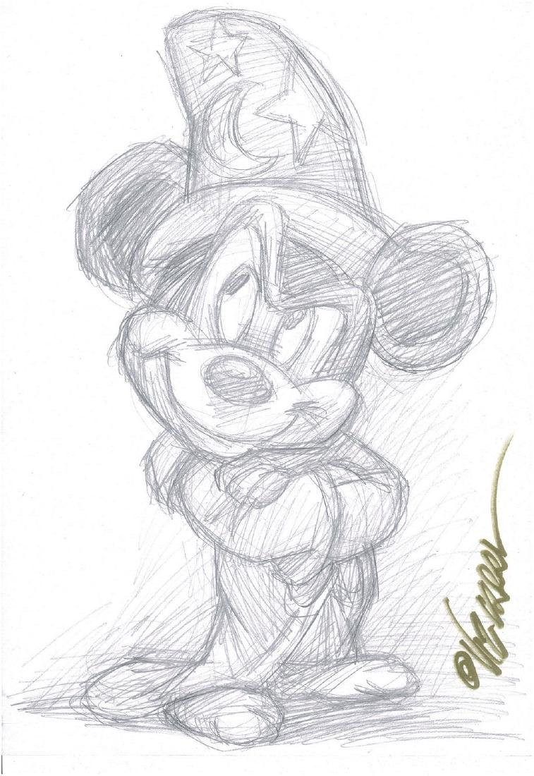 Mickey Mouse - The Sorcerer's Apprentice - Sketch