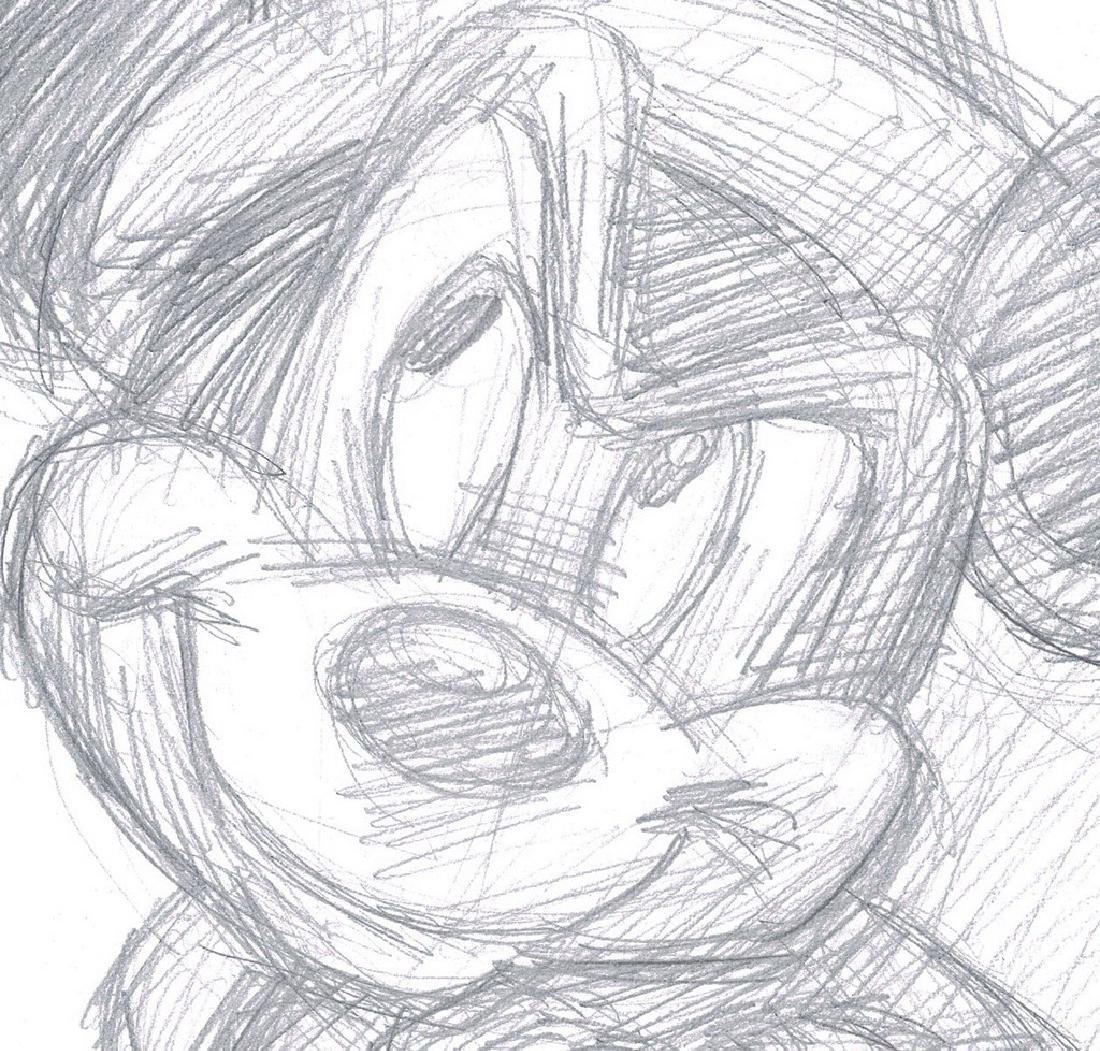 Mickey Mouse - The Sorcerer's Apprentice - Sketch - 2