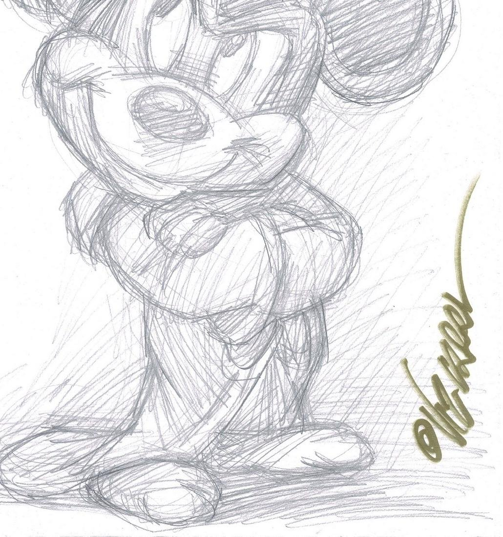 Mickey Mouse - The Sorcerer's Apprentice - Sketch - 3
