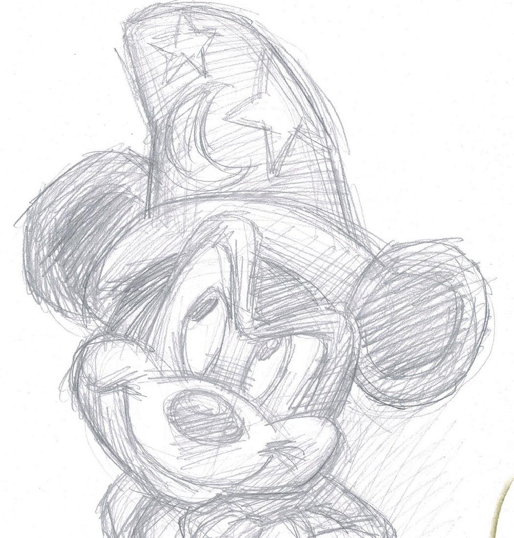 Mickey Mouse - The Sorcerer's Apprentice - Sketch - 5