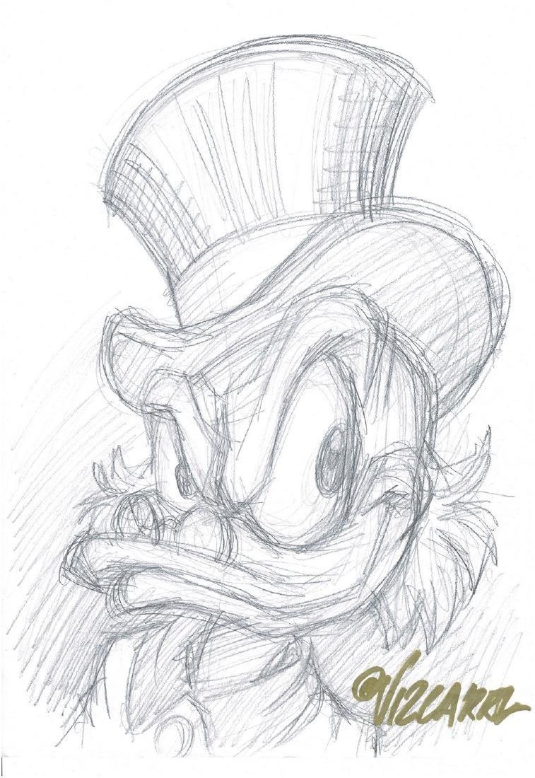 Uncle Scrooge - Sketch #1 Vizcarra, Joan