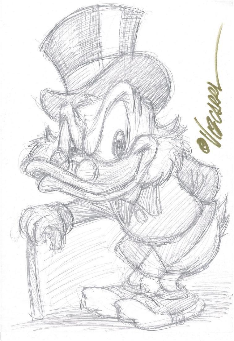 Uncle Scrooge - Sketch #2 Vizcarra, Joan