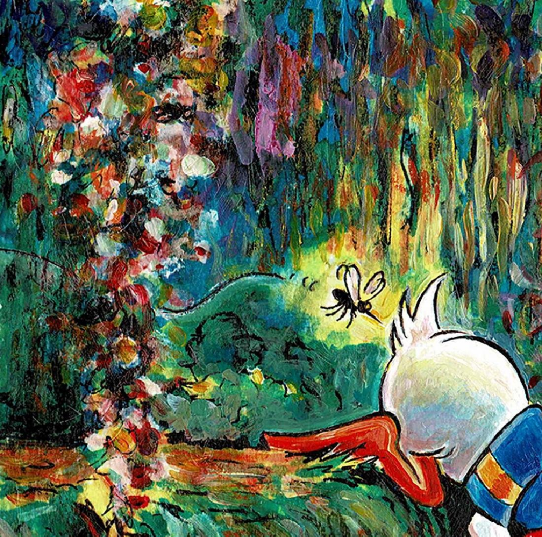 Original Painting - Donald Duck inspired by Monet - 4