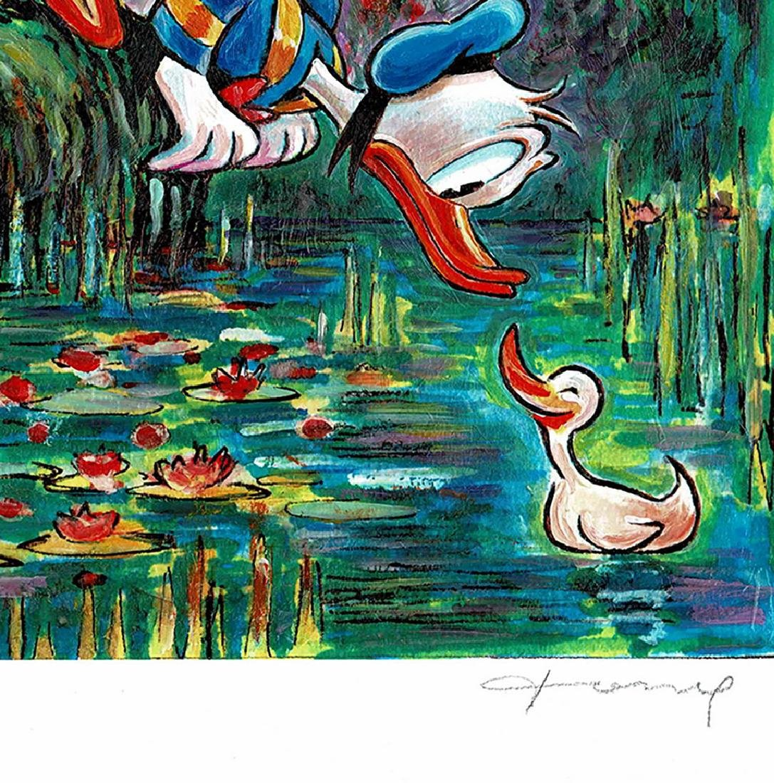 Original Painting - Donald Duck inspired by Monet - 5