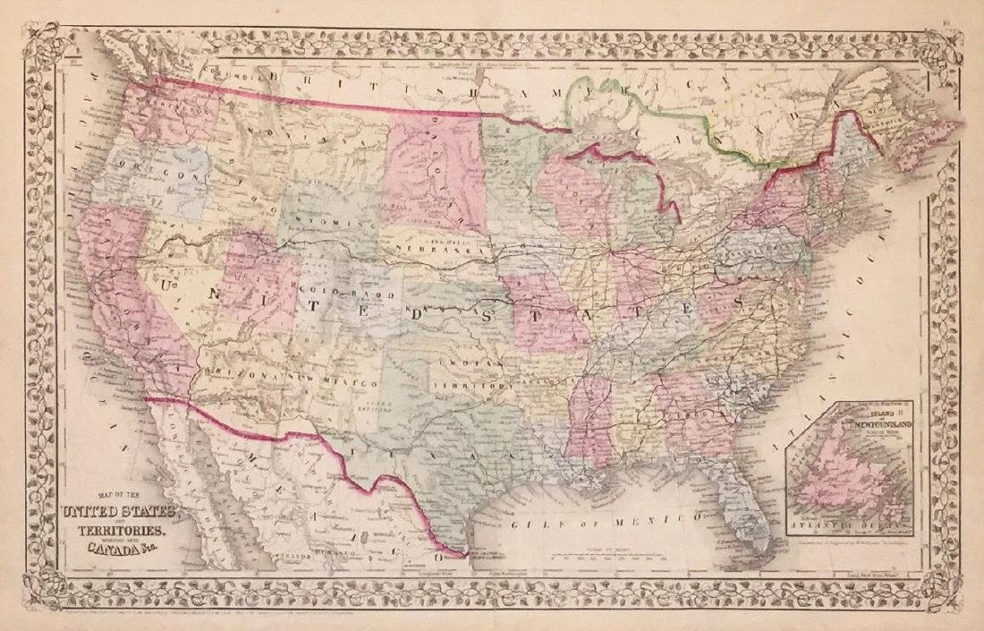 Mitchell: The U.S. in 1870