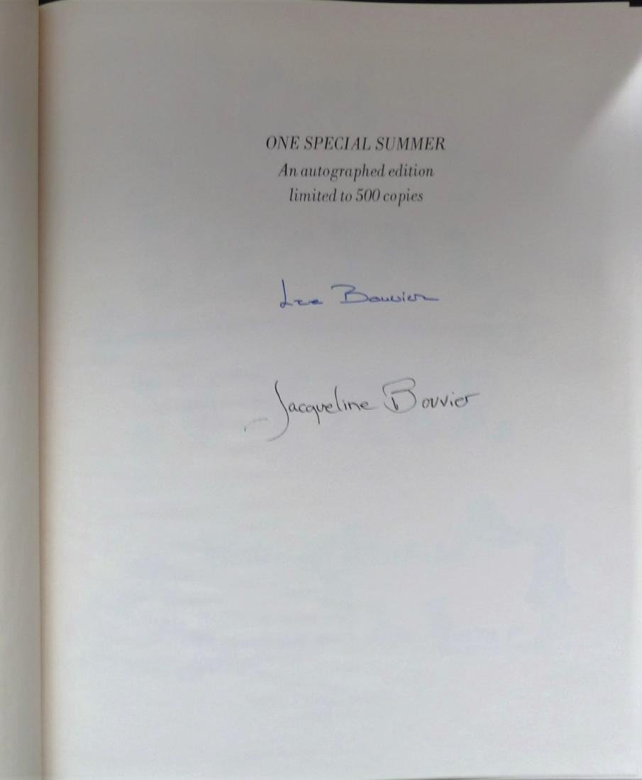 One Special Summer Signed Jackie Kennedy Onassis - 2