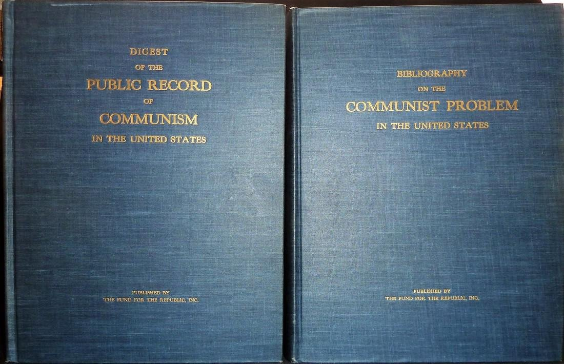 Digest of the Public Record on Communism in the US