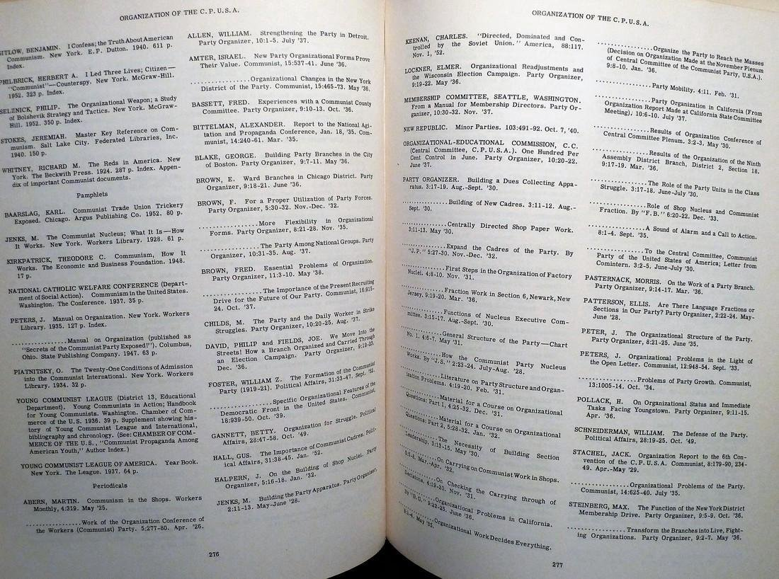 Digest of the Public Record on Communism in theUS - 6