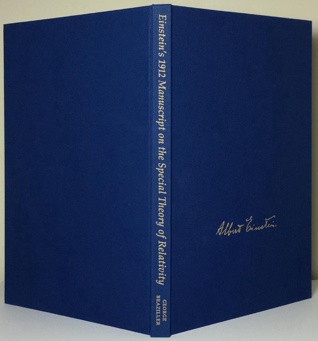 Einstein's 1912 Manuscript Special Theory of Relativity - 2