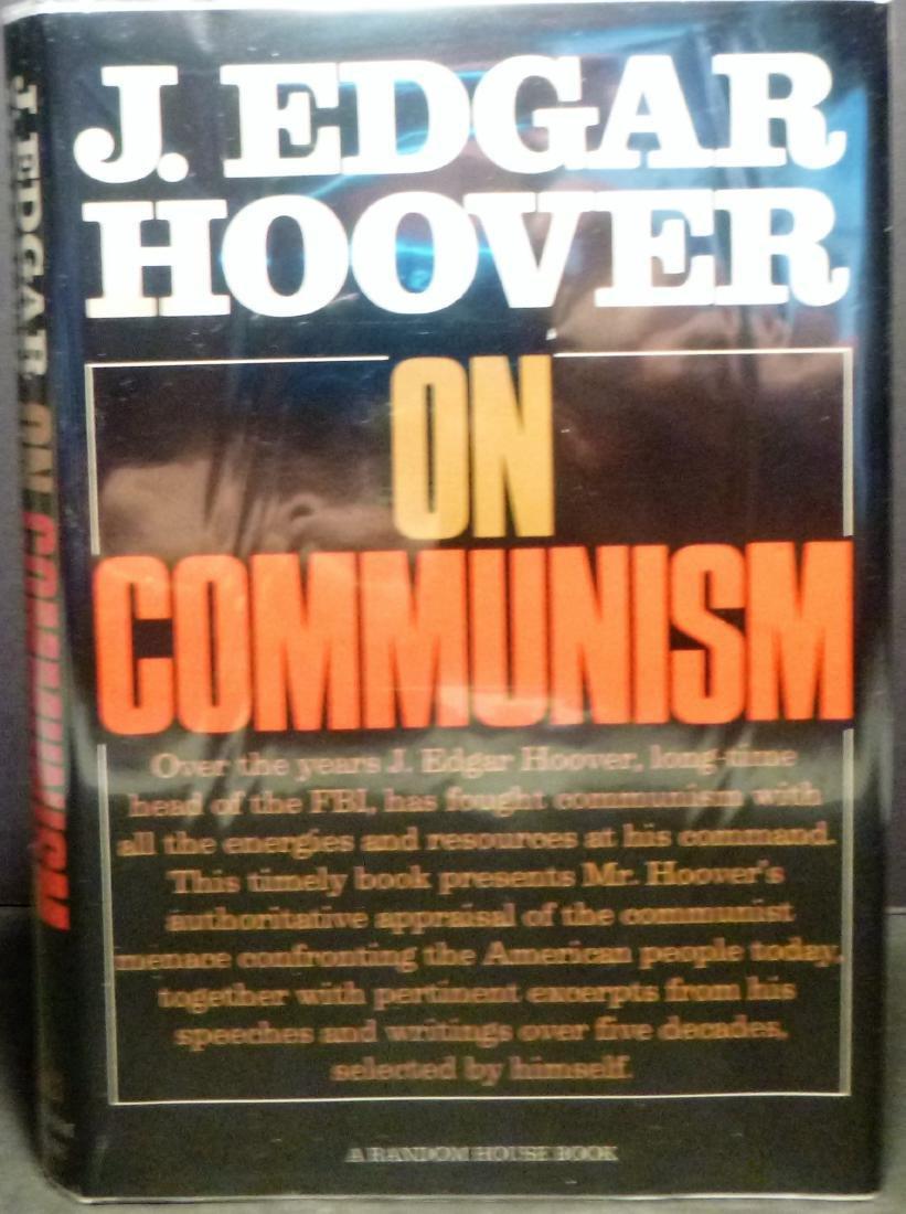 J. Edgar Hoover On Communism- Signed J. Edgar Hoover