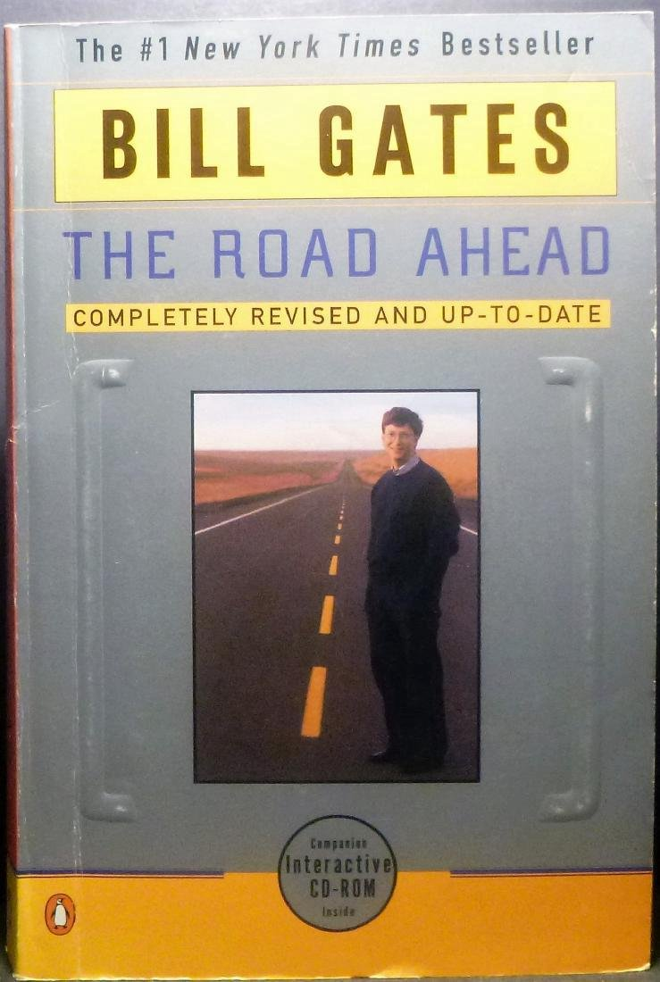 The Road Ahead - Bill Gates Signed Bill Gates