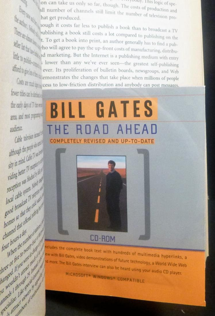 The Road Ahead - Bill Gates Signed Bill Gates - 5