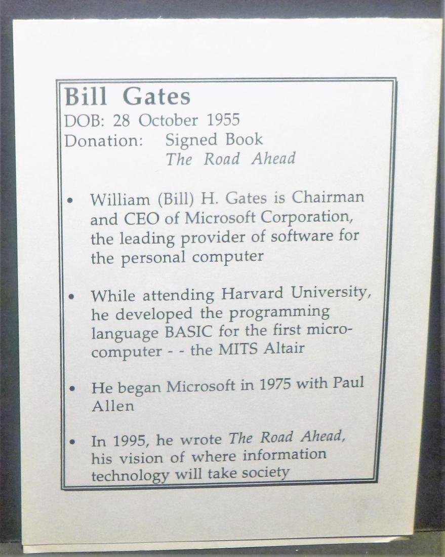 The Road Ahead - Bill Gates Signed Bill Gates - 6
