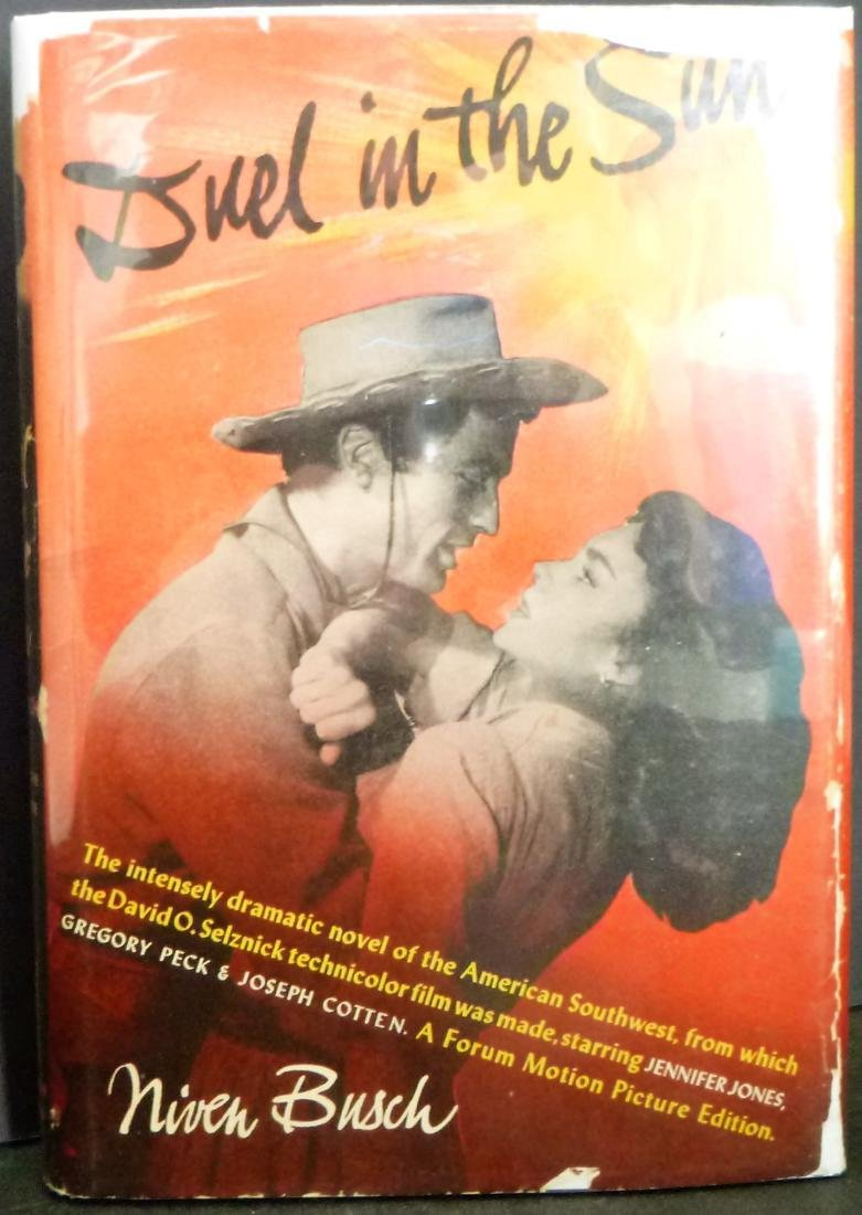 Duel In The Sun- Signed Niven Busch Niven Busch
