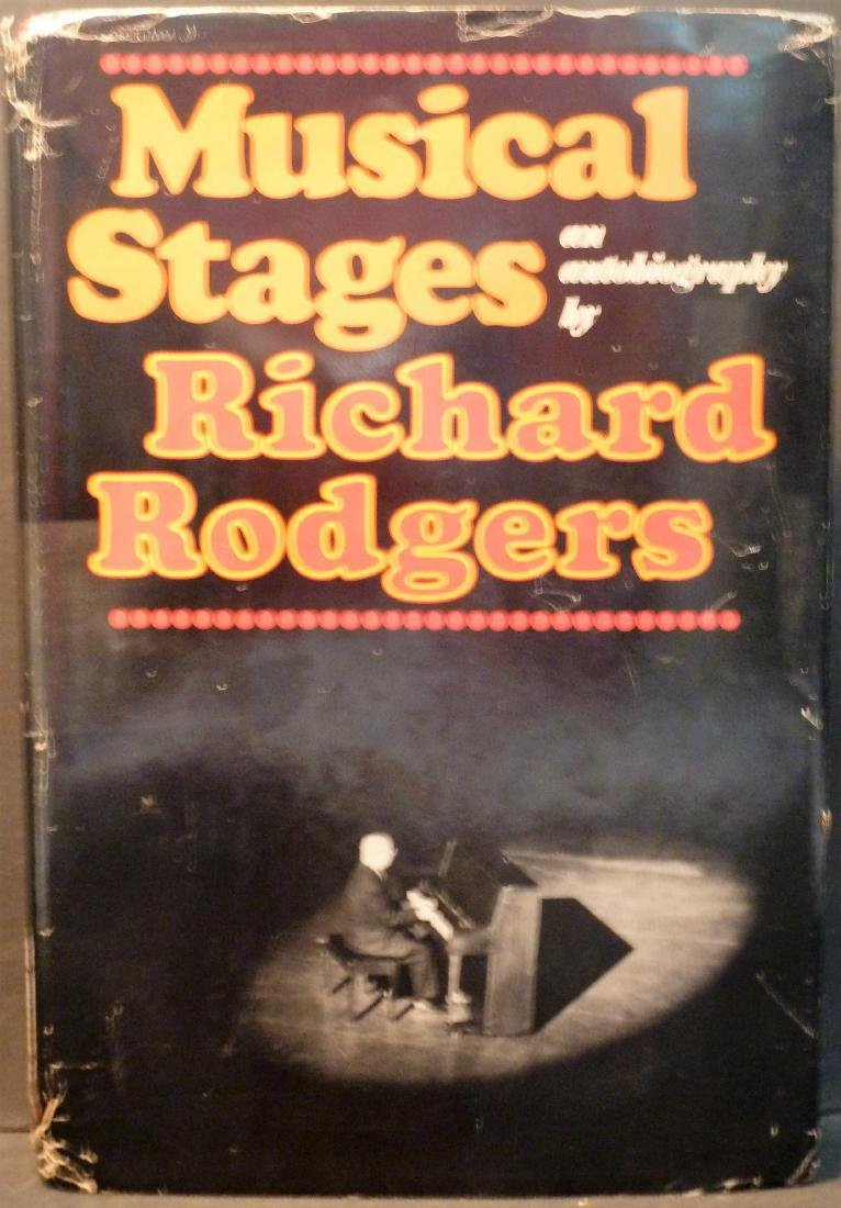 Musical Stages- Signed Richard Rogers Richard Rogers