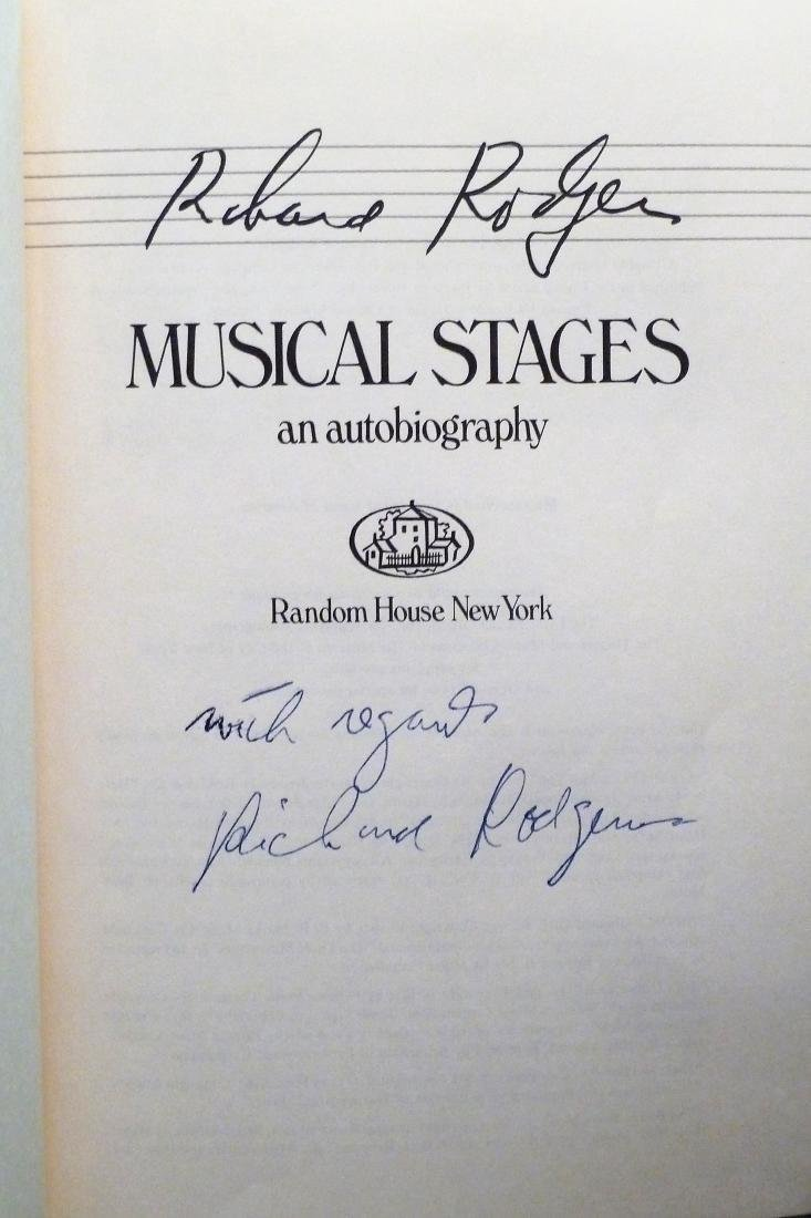 Musical Stages- Signed Richard Rogers Richard Rogers - 3