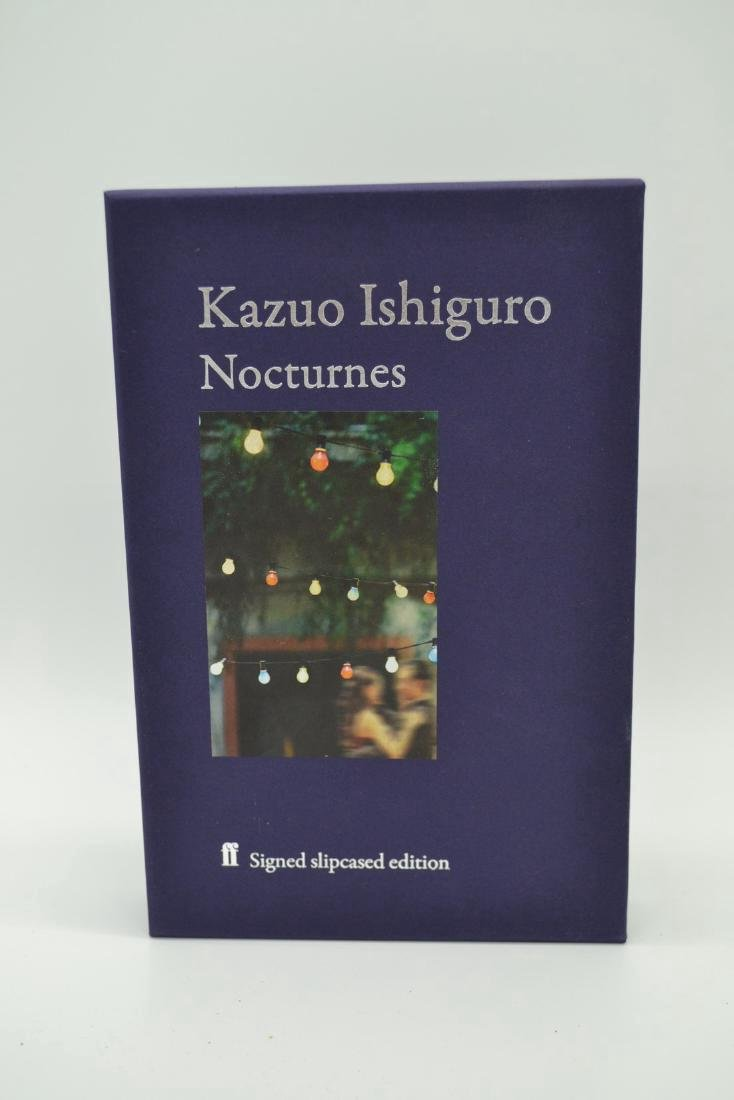 Nocturnes Signed Slip-cased First Edition Ishiguro