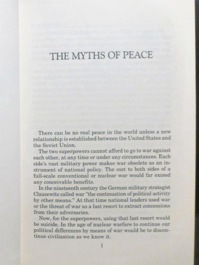 Real Peace- Nixon Signed Richard Nixon - 3