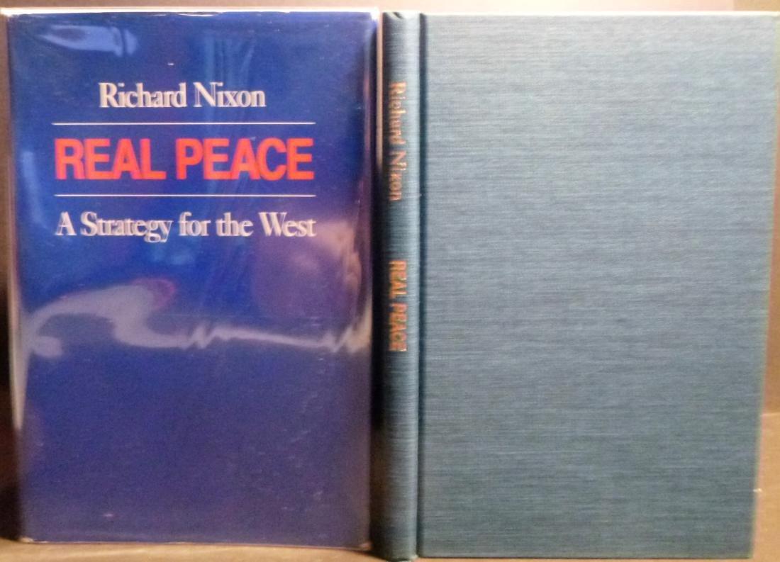 Real Peace- Nixon Signed Richard Nixon - 5