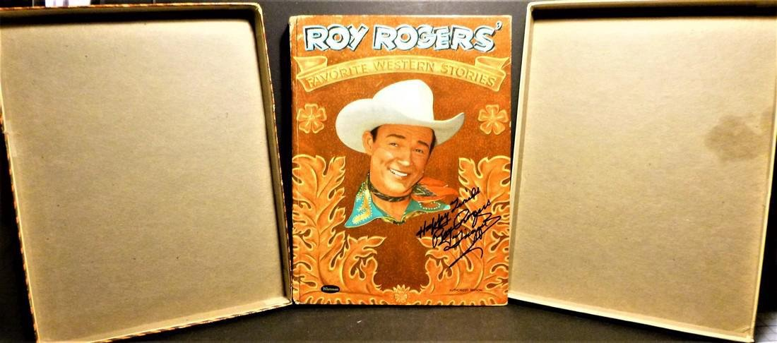 Roy Rogers' Favorite Western Stories- Signed Roy Rogers