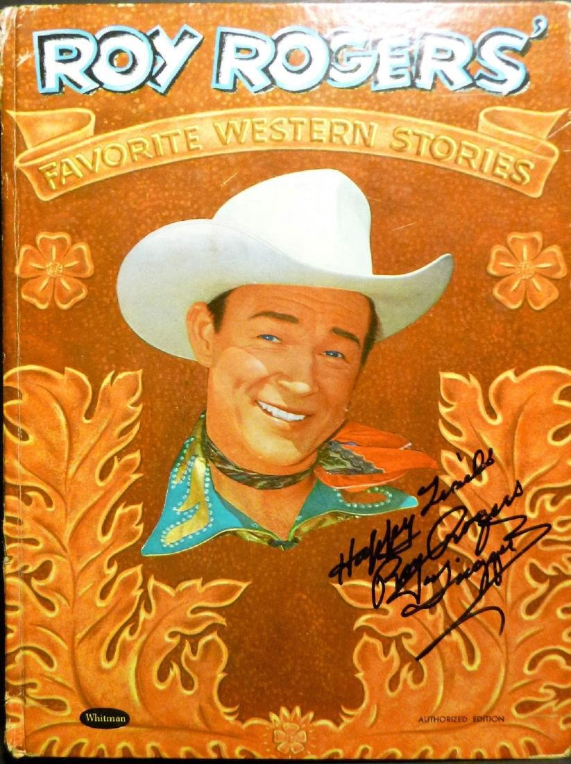 Roy Rogers' Favorite Western Stories- Signed Roy Rogers - 2