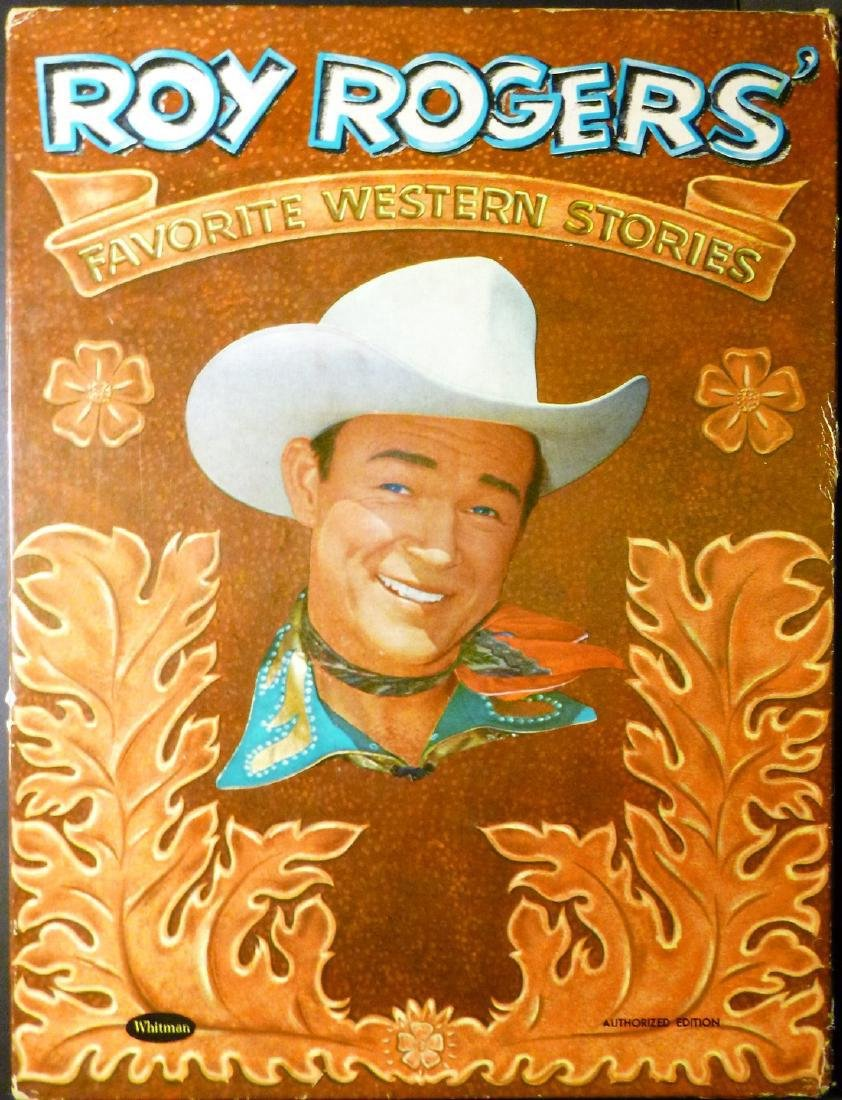 Roy Rogers' Favorite Western Stories- Signed Roy Rogers - 3