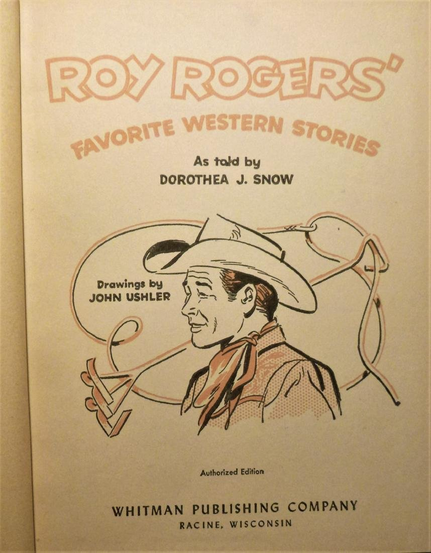 Roy Rogers' Favorite Western Stories- Signed Roy Rogers - 5