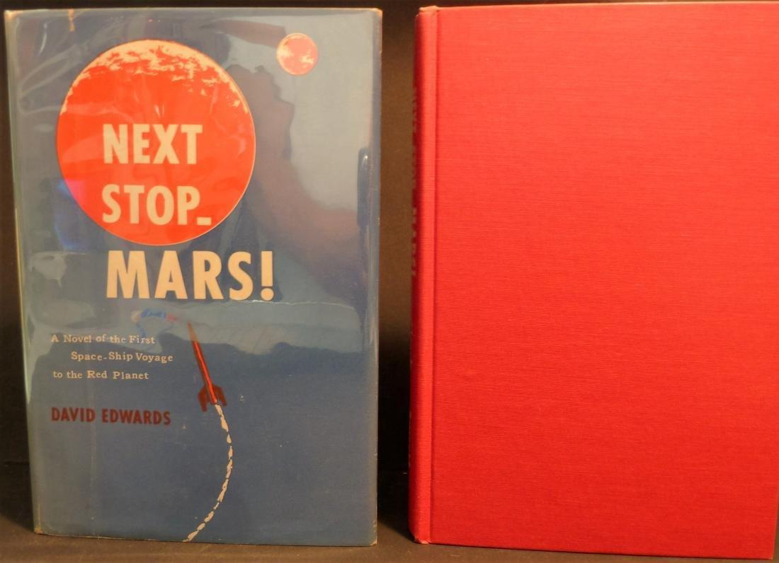 Next Stop _ Mars- Signed David Edwards