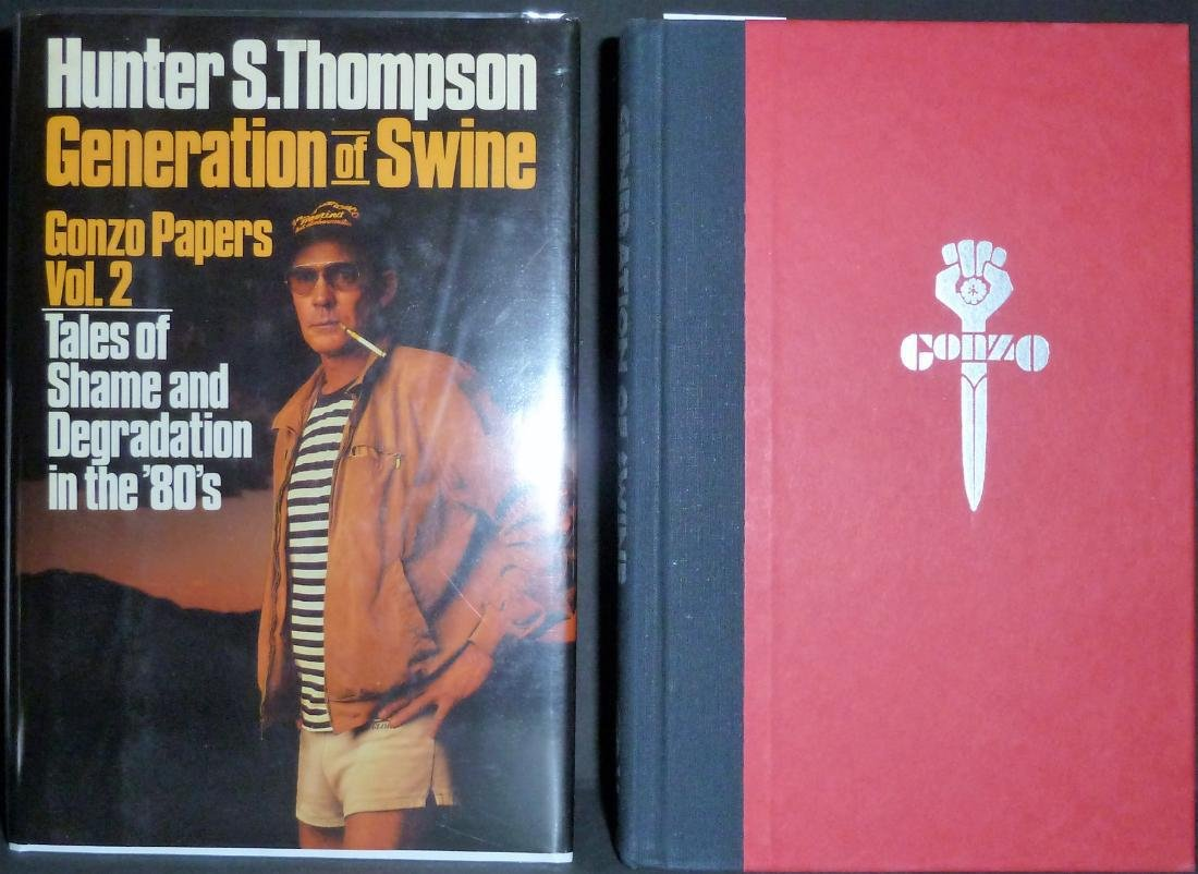Generation of Swine- Signed Hunter Thompson