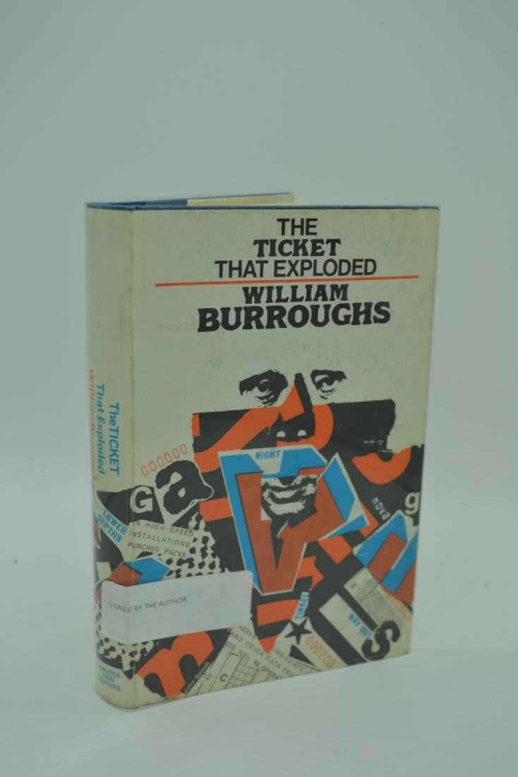 The Ticket that Exploded signed Burroughs, William