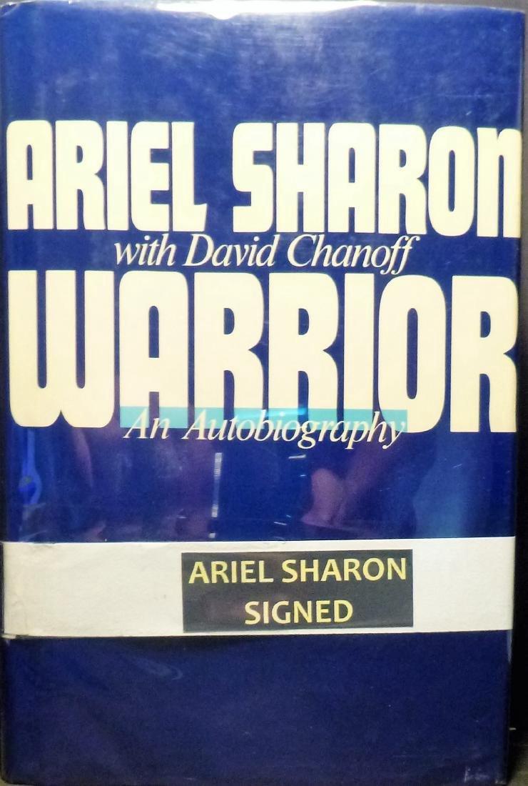 Warrior- Signed Ariel Sharon Ariel Sharon