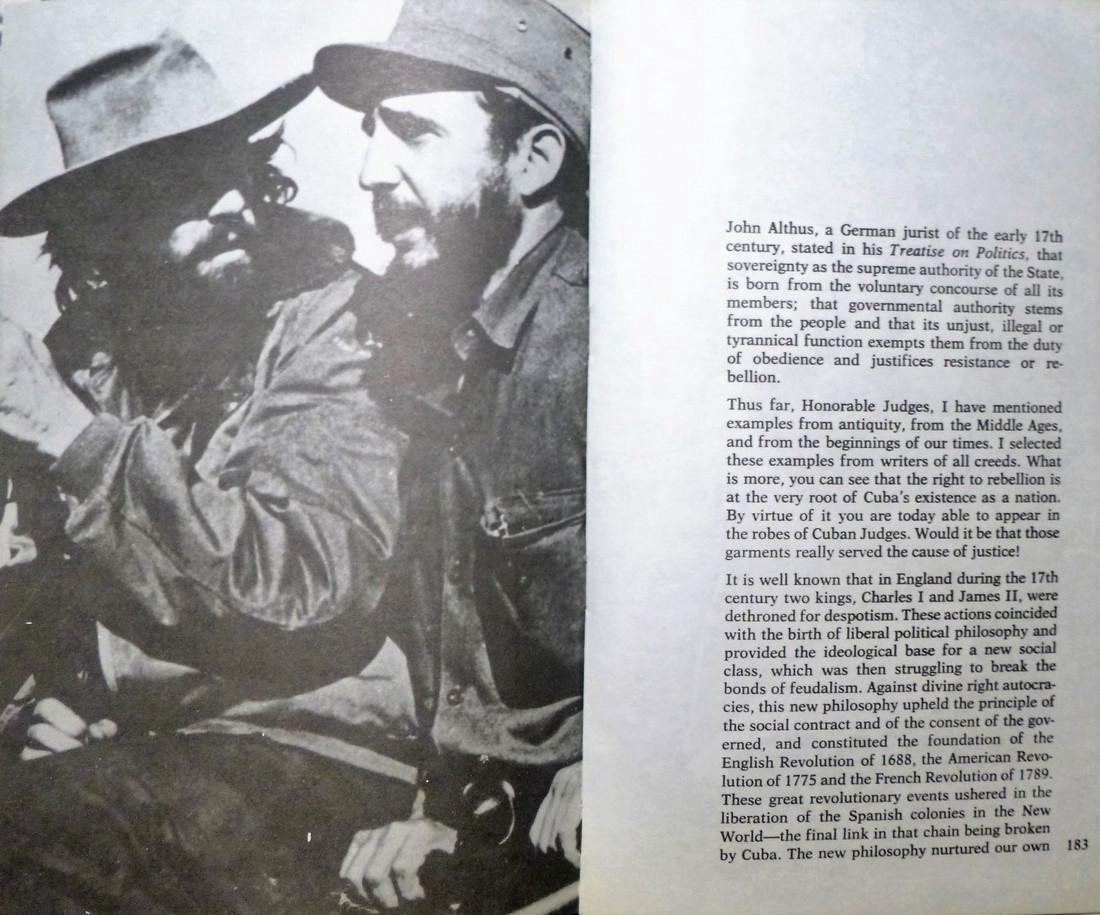 History Will Absolve Me - Signed Fidel Castro - 9