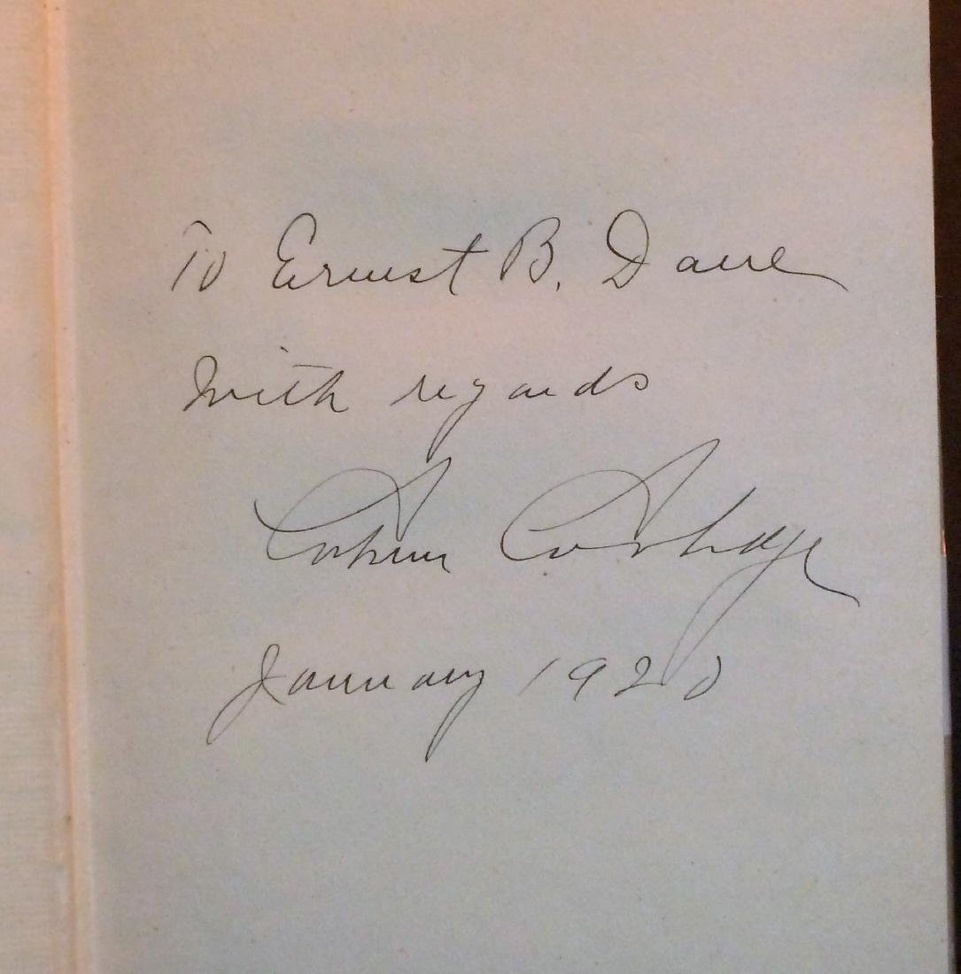Have Faith In Massachusetts Signed Calvin Coolidge - 2