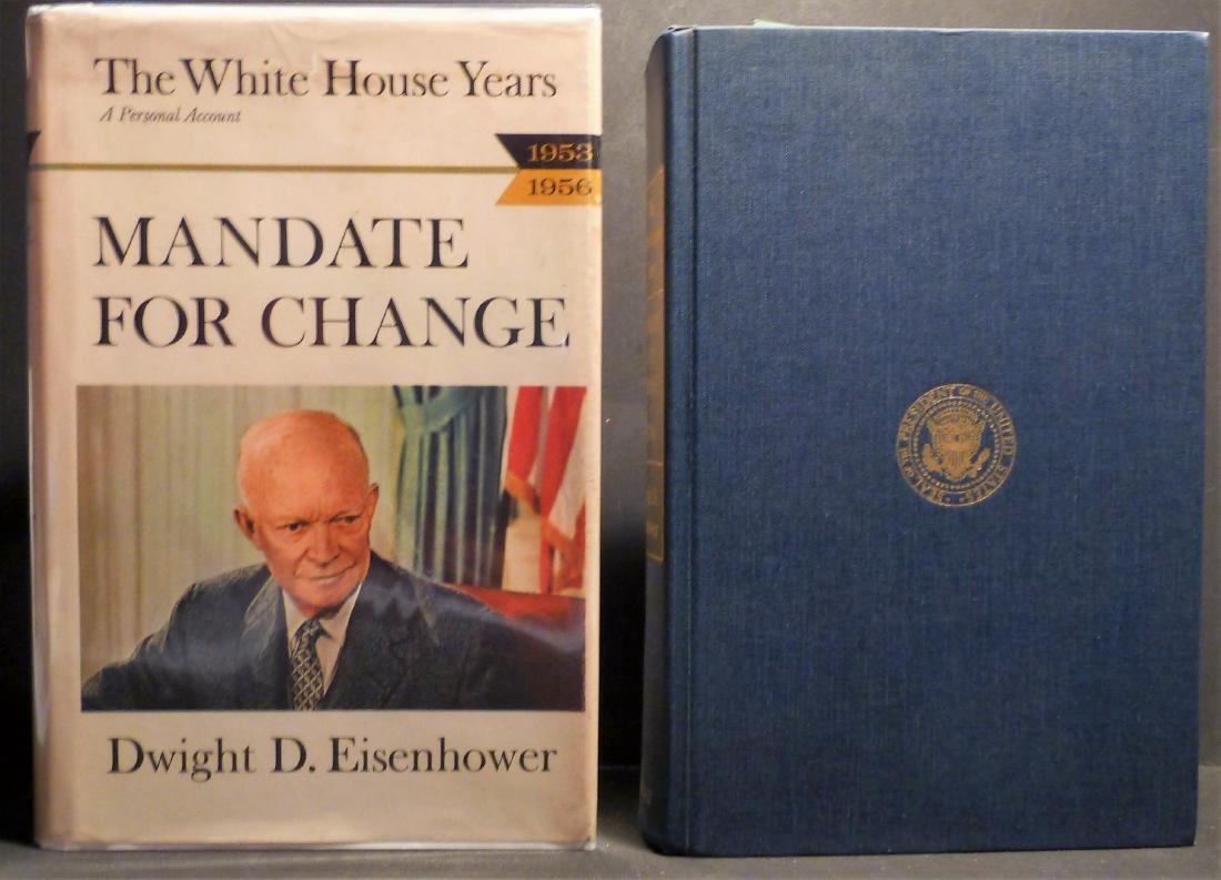 Mandate For Change Signed Dwight Eisenhower